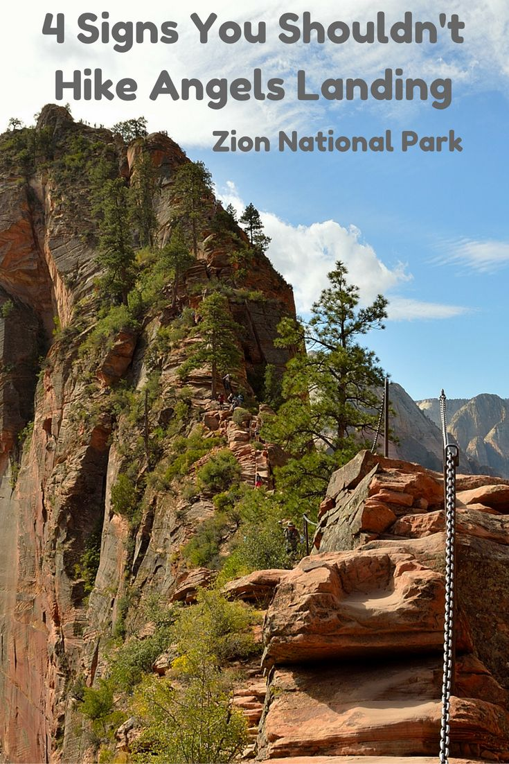 Angels Landing. Should you hike this one of the most popular and terryfying trails in Zion National Park?