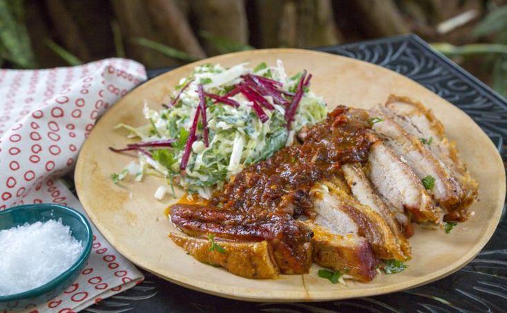 Piri-Piri Pork Belly with Fresh Slaw