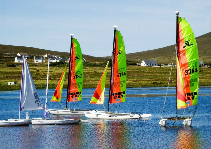 Boats on Achill Island