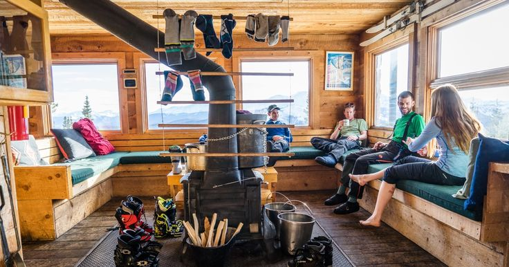 Learn to XC ski and take a trip w/B & friends to the CO Mountain huts