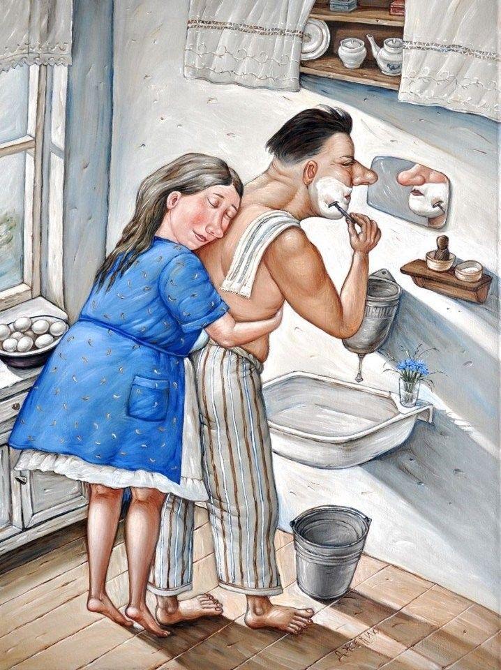 Смешные картинки мужу про любовь
