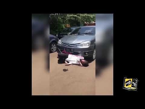 Beredar Video Pesinetron Cynthia Ramlan Nyaris Terlindas Mobil, Meidian Maladi Minta Maaf