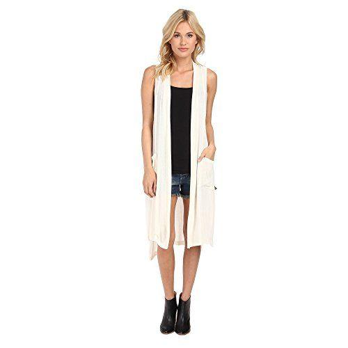 (BCB ジェネレーション) BCBGeneration レディース トップス スリーブレスシャツ Long Sheer Knit Vest 並行輸入品  新品【取り寄せ商品のため、お届けまでに2週間前後かかります。】 表示サイズ表はすべて【参考サイズ】です。ご不明点はお問合せ下さい。 カラー:Whisper White