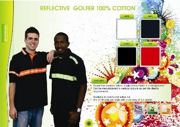 Reflective Golfers cotton1
