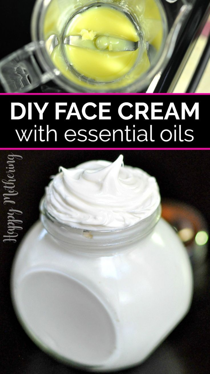 DIY Frankincense Whipped Face Cream Homemade beauty