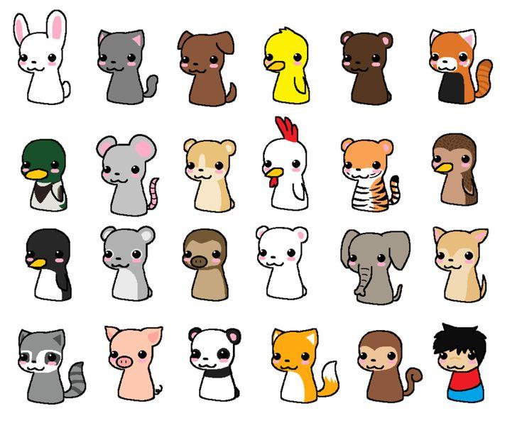 Cute Chibi Animals - Bing Images