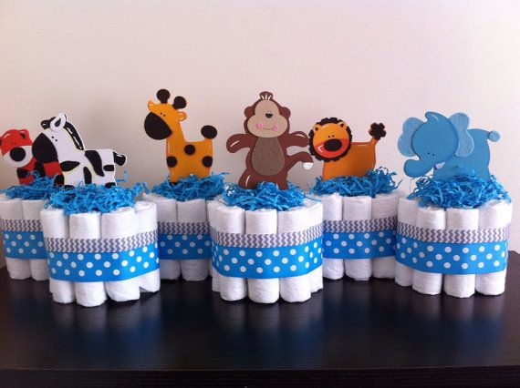 Hey, ho trovato questa fantastica inserzione di Etsy su https://www.etsy.com/it/listing/157544485/mini-jungle-diaper-cakes-set-of-6-safari