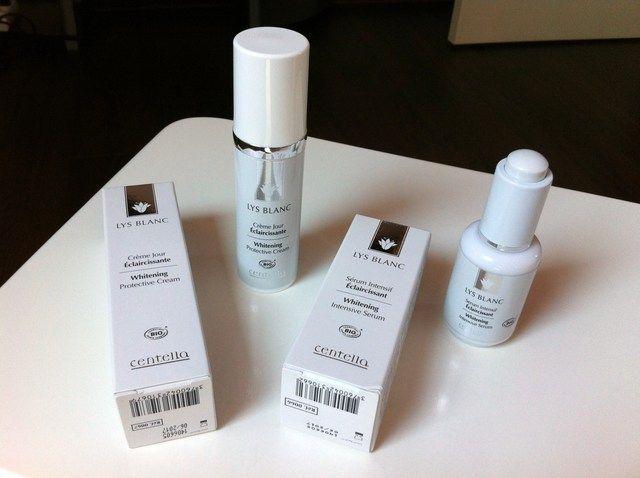 Parfums de Vanille... a testé la gamme éclaircissante Lys Blanc de Centella !