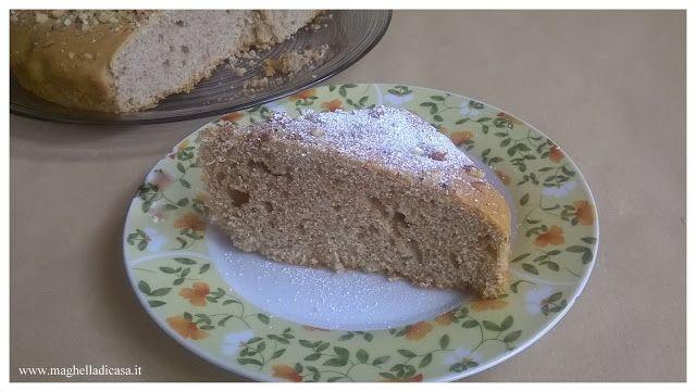 Maghella di casa                 : Torta semplice con nocciole