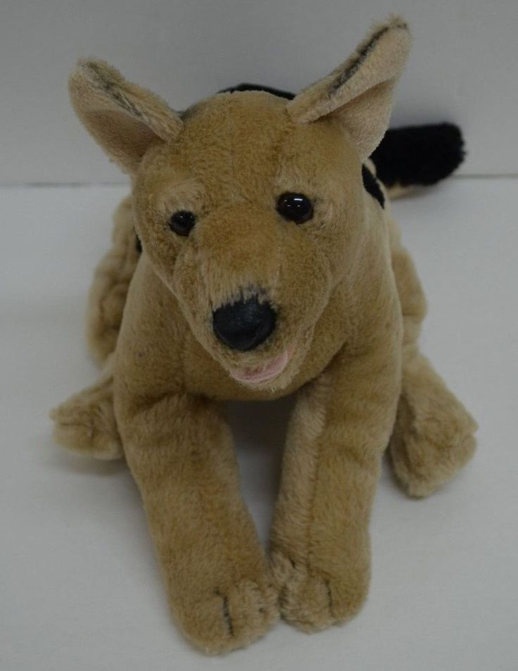 TOYS R US Animal Alley GERMAN SHEPARD PUPPY DOG Plush