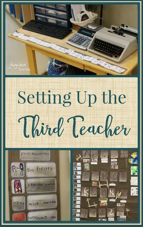 Setting up the 3rd Teacher: A peek into Nammi's Reggio Inspired Classroom (Part 2) - Fairy Dust Teaching