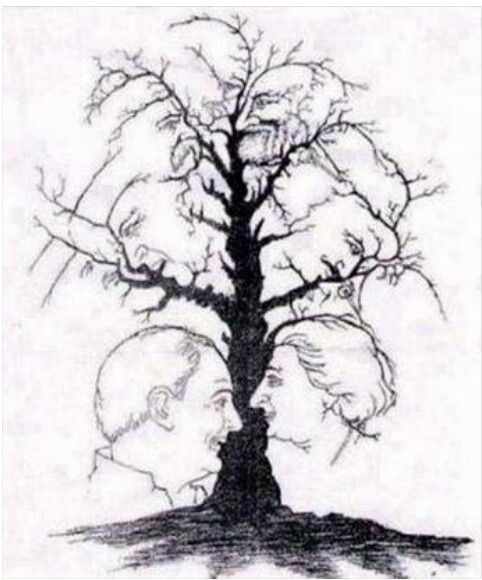 How many faces do u see?