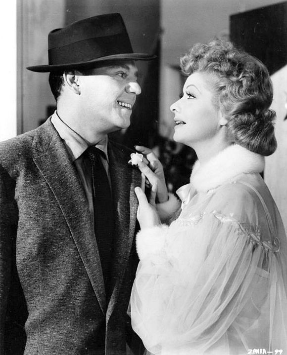 "Desi Arnaz and Lucille Ball always were in love, even though they had a rocky marriage.  She filed for divorce in the mid 40s, and did so in 1960, remaining good friends.  Although she said she didn't regret it because ""I couldn't take it anymore.""  When Lucy died in 1989 her second husband said ""Well I guess she's happy now.  She's with Desi."""