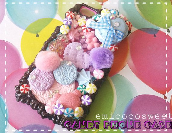 Check out this item in my Etsy shop https://www.etsy.com/au/listing/478301443/macaroonsoreo-cookiepom-pomcandy-decoden