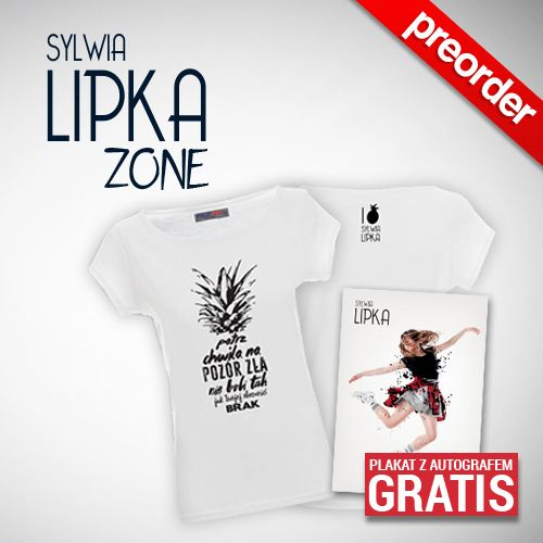 "(Preorder) Sylwia Lipka koszulka Damska ""ANANAS"""