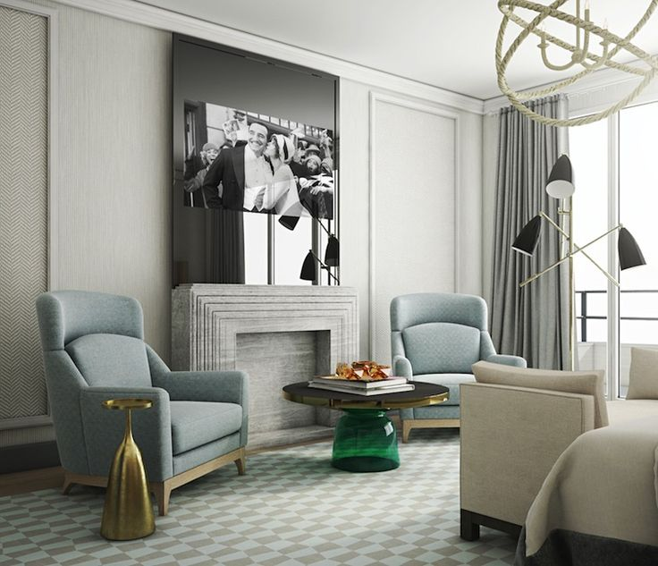 LUXURY DECOR | Contemporary decor with luxury furniture . Hyatt Nice by Jaime Beriestain |  www.bocadolobo.com #contemporarydesign #contemporarydecor