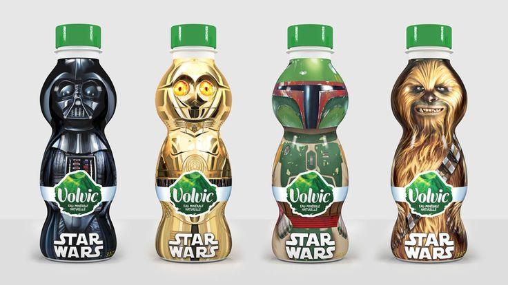 Volvic Star Wars Packaging