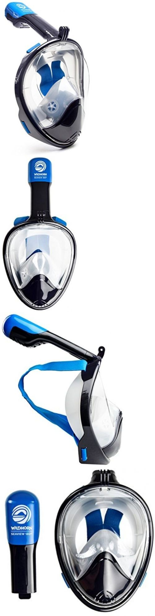Masks 71161: L/Xl Full Face Mask For Snorkel Scuba Diving Swimming Anti Fog Surface Gopro New -> BUY IT NOW ONLY: $111.99 on eBay!