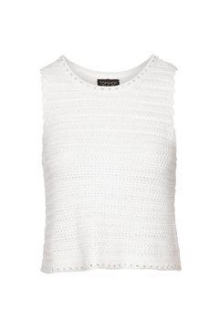Square Stitch Crochet Vest