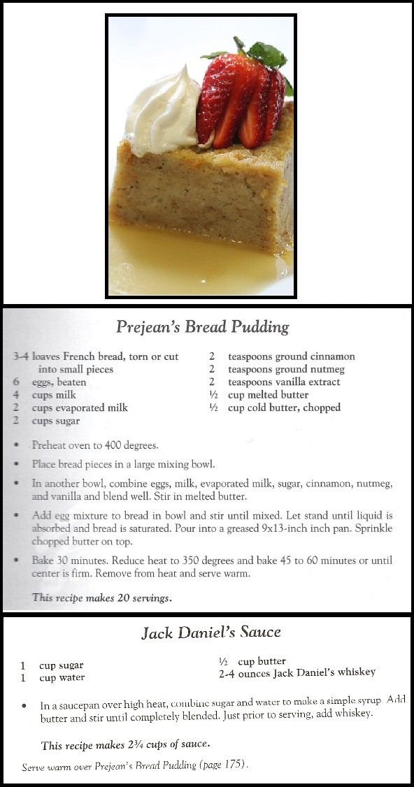 Prejean's Cajun Restaurant's recipe for their Bread Pudding with their Jack Daniels Sauce... YUM! Click through for the Dine Around video by Chris Reed of 107.9, a Townsquare Media station.