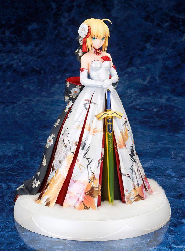 Fate Stay Night Saber Kimono Sword Figure Figurine No Box