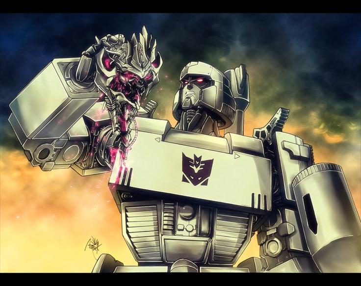 Transformers, Autobots, Generation 1, Megatron / TF The