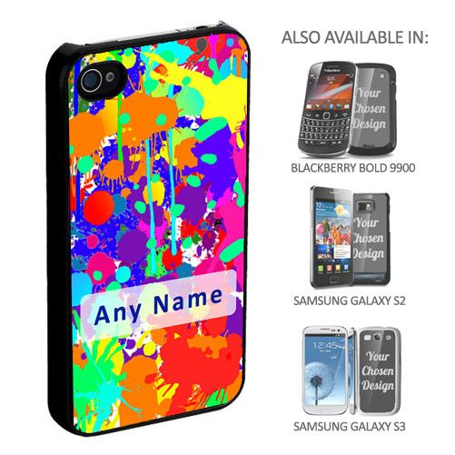 Personalised Splat! Phone Cover - yourgifthouse