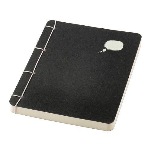 SÄRSKILD Carnet, noir 2,99 € Ikea
