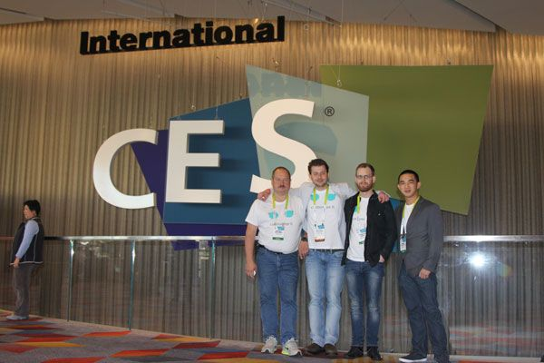 The team at #CES2015