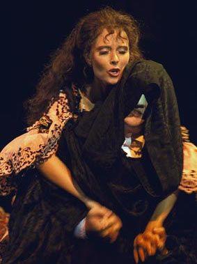 Joke de Kruijf as Christine in Scheveningen, The Netherlands, 1993.
