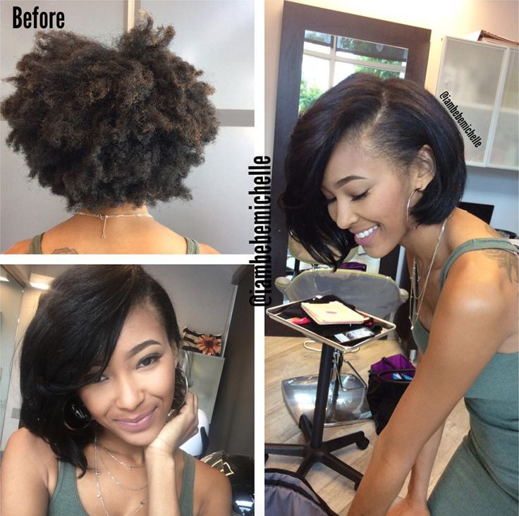 Lovely silk press via @iambebemichelle - http://community.blackhairinformation.com/hairstyle-gallery/natural-hairstyles/lovely-silk-press-iambebemichelle/
