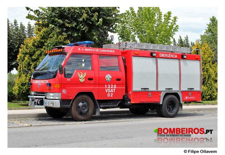 Bombeiros Voluntários de Marco de Canaveses - 1320 VSAT 02 - Mitsubishi