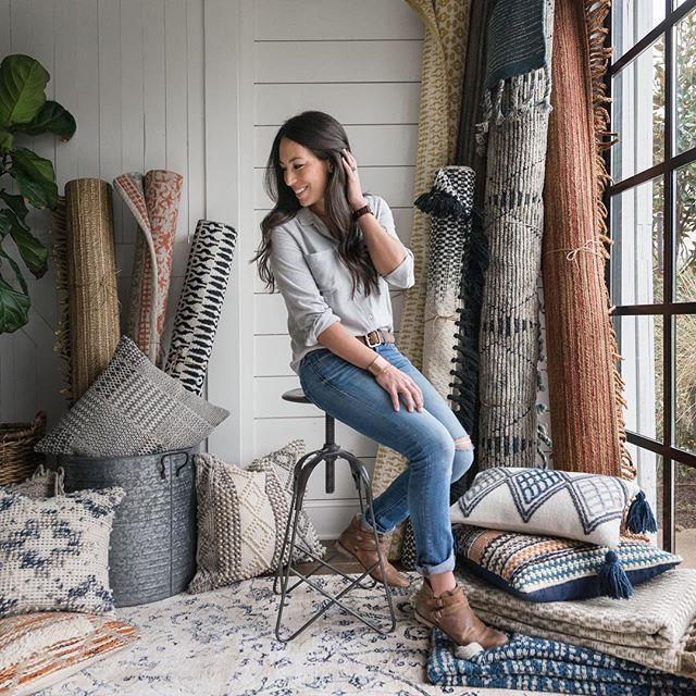 3, 2, 1... The launch of @Magnolia Home by @Joannagaines rugs, pillows and throws is officially he...