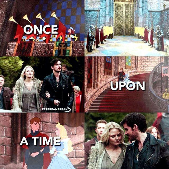 Colin O'Donoghue - Killian Jones -Captain Hook - Jennifer Morrison - Emma Swan - Once Upon A Time https://www.instagram.com/peterpanfreak/