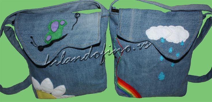 Como hacer un bolso con tela vaquera resultados de la - Como hacer un estor de tela ...