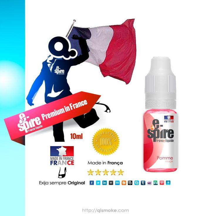 Sabor Maça Vermelha - e-liquido para cigarro eletronico. Muito Bom!!