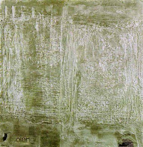 Ahti Lavonen: La vie dans l'argent, 1962, oil on canvas, 100x100 cm