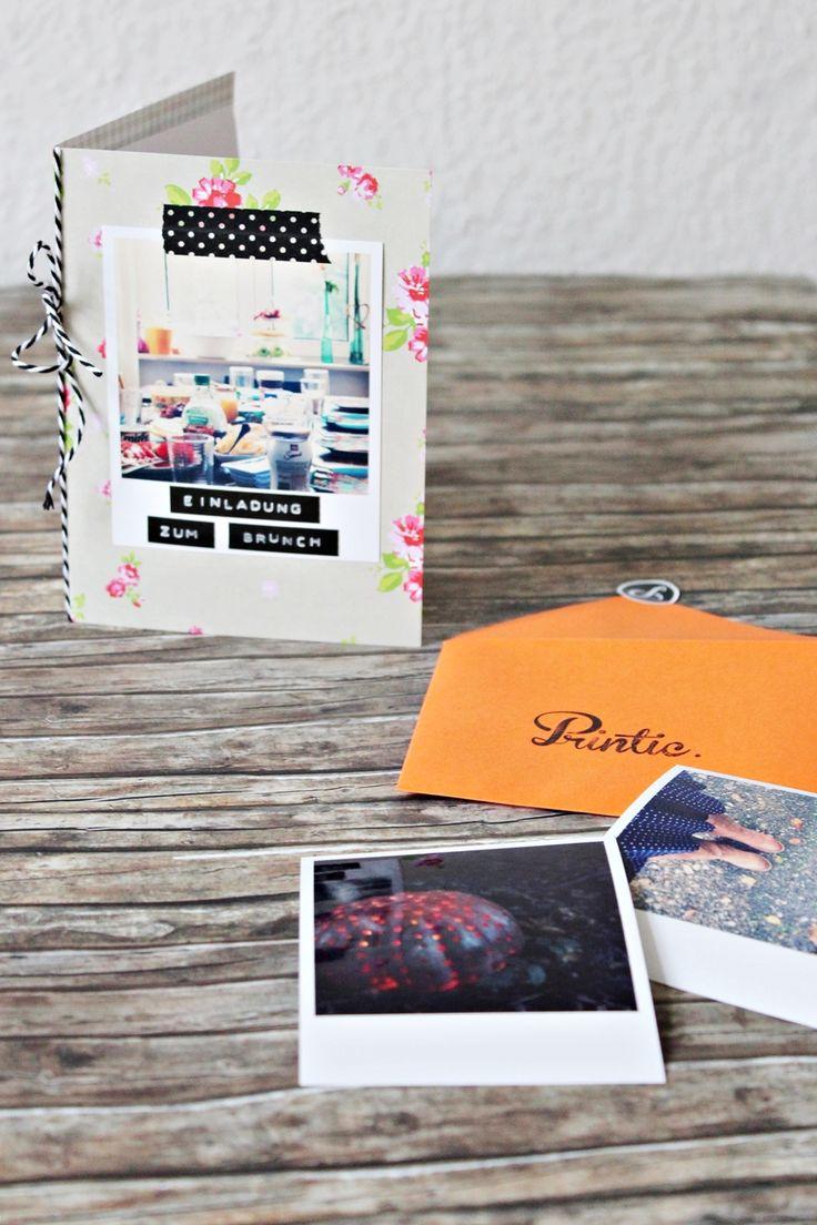 111 best karten diy basteln images on pinterest kids - Polaroid karten ...