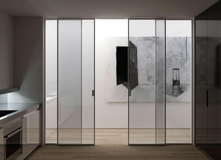 25 best ideas about puertas correderas de cristal on for Ideas de puertas correderas
