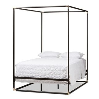 Shop for Industrial Black Canopy Bed by Baxton Studio. Get free shipping at Overstock.com - Your Online Furniture Outlet Store! Get 5% in rewards with Club O!