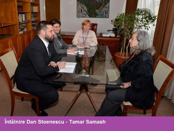 POLITICI ȘI STRATEGII PENTRU DIASPORA, DISCUTATE CU AMBASADORULUI STATULUI ISRAEL