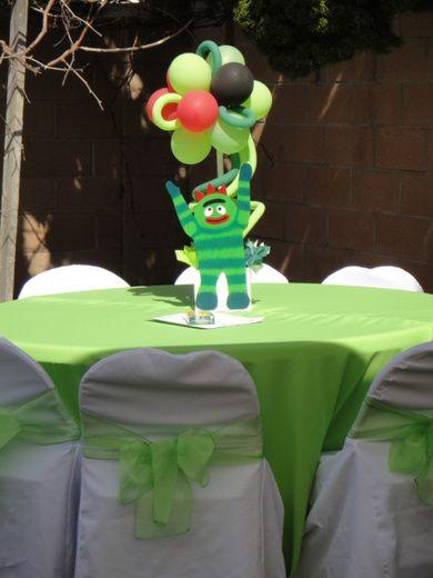 Yo Gabba Gabba Birthday Party Ideas | Photo 17 of 21 | Catch My Party