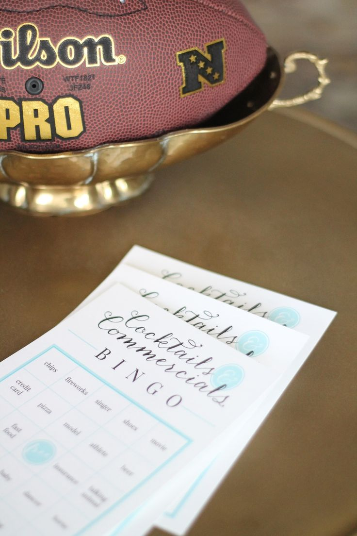 34 best Free Printables - Football Tailgating Superbowl images on ...