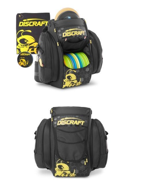 Disc Golf 20851: Discraft Grip Eq Bx Coal Buzzz Disc Golf Bag With Matching  Towel