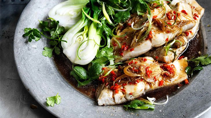 Fresh is best: Spicy steamed and marinated blue-eye fillets.