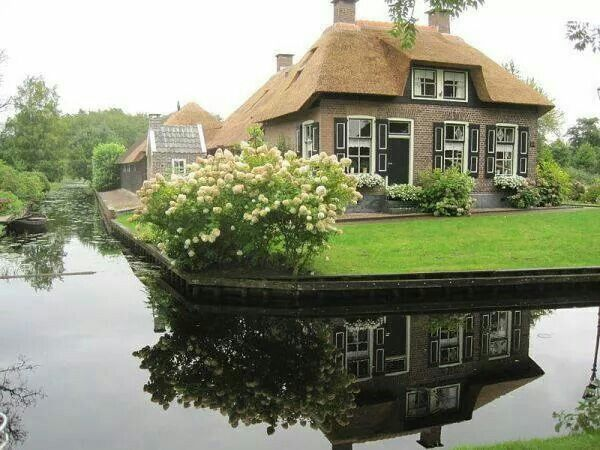 beautiful house and environment