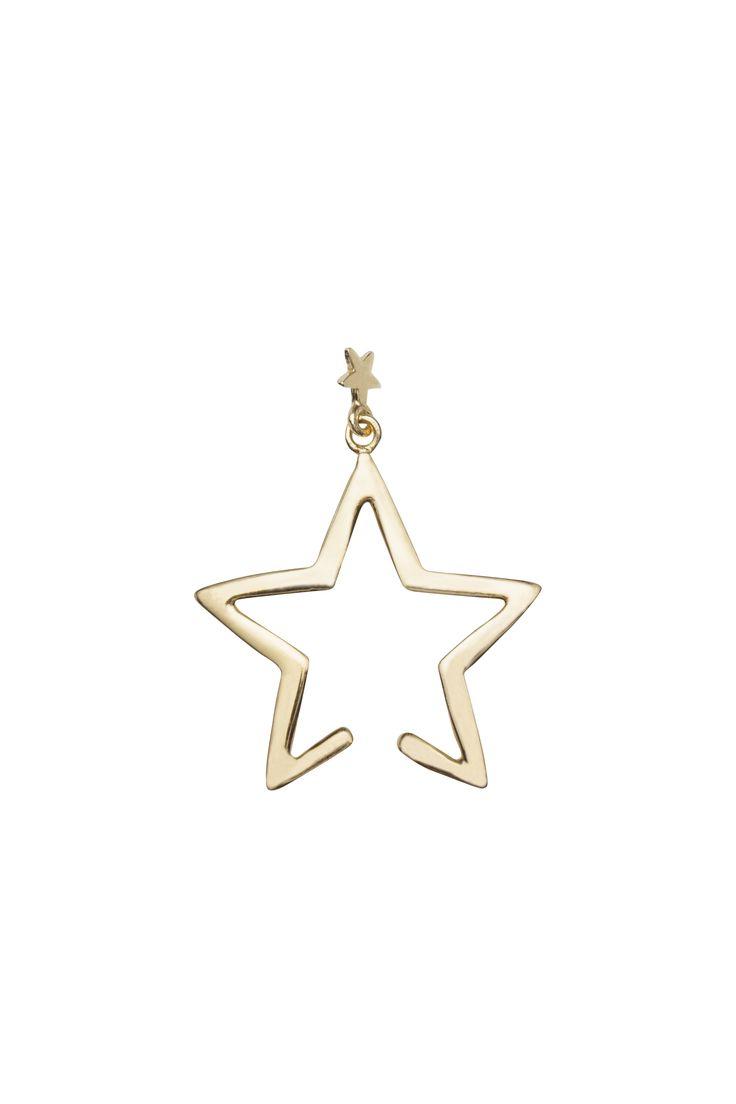 Falling Star Cuff Gold