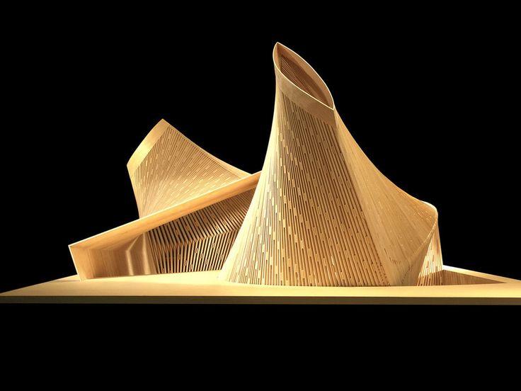 Daegu Gosan Public Library International Architectural Competition by Patkau Architects