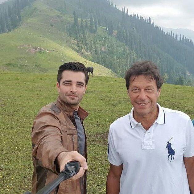 Imran Khan and Hamsa Ali Abassi