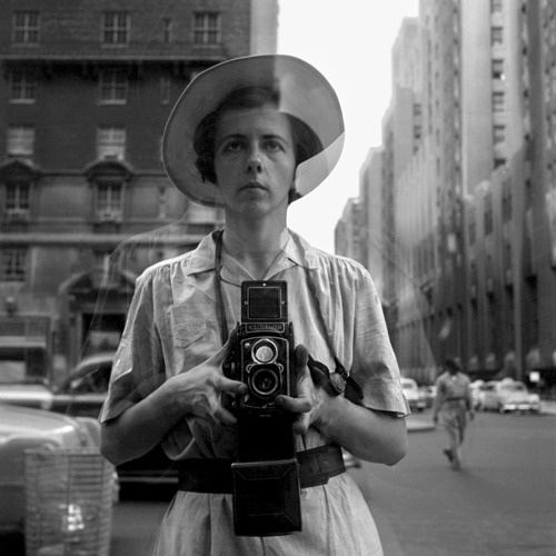 Vivian Meier con su Rolleiflex